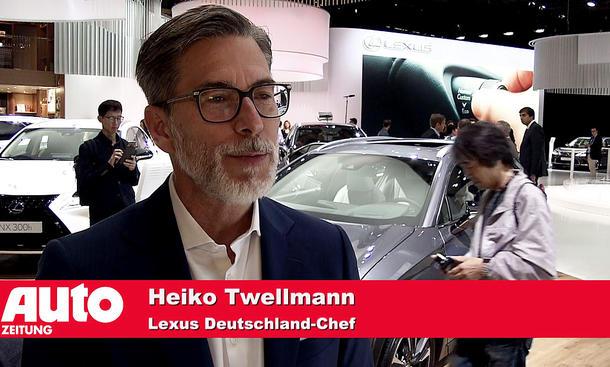 Heiko Twellmann (General Manager Lexus Deutschland)