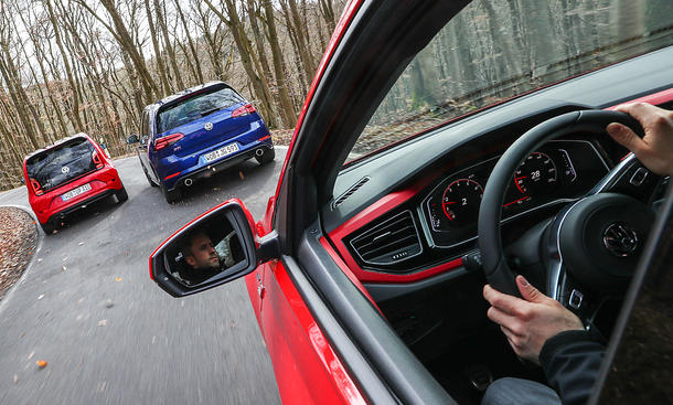 VW Up GTI/VW Golf 7 GTI/VW Polo GTI: Vergleich