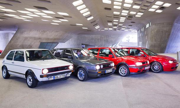 VW Golf GTI – 40-jähriges Jubiläum