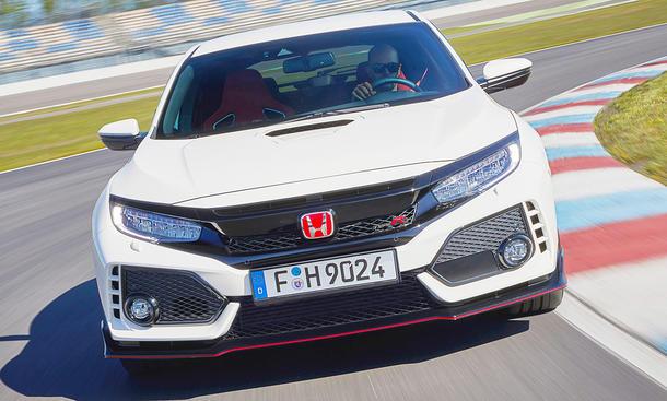 Neuer Honda Civiv Type R (2017)
