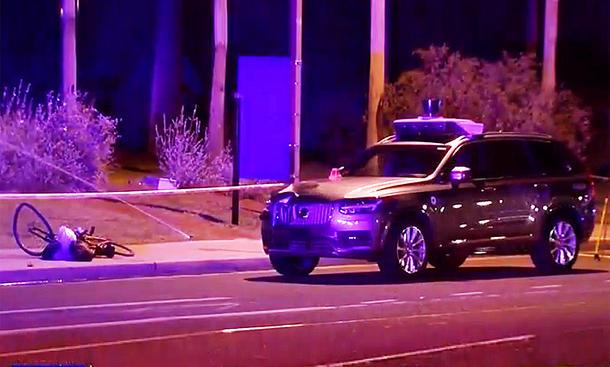 Uber-Unfall mit selbstfahrendem Auto