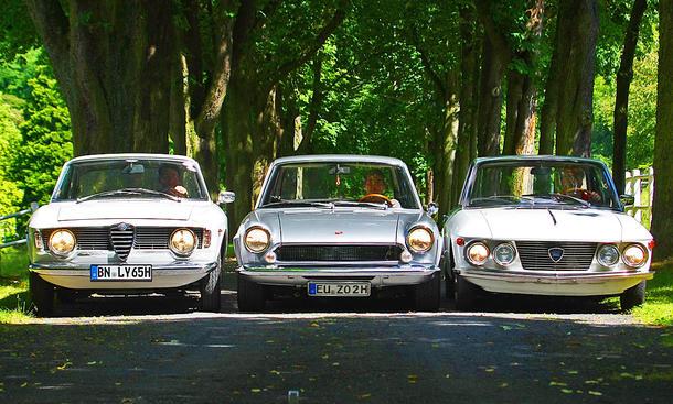 Alfa Giulia/Lancia Fulvia/Fiat 124: Classic Cars