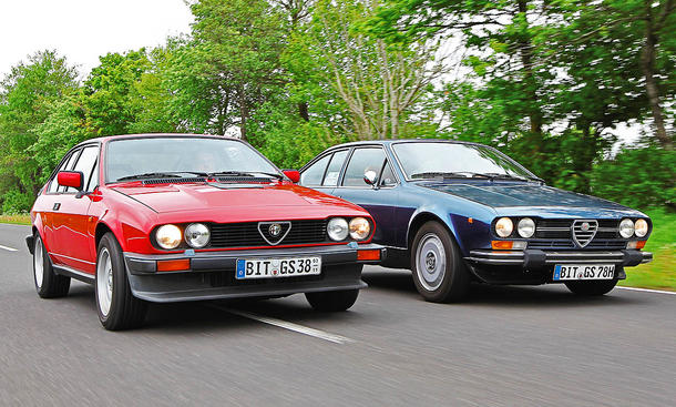 Alfa Romeo Alfetta GTV/GTV6: Classic Cars