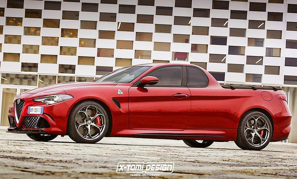 Alfa Romeo Giulia Quadrifoglio Pickup
