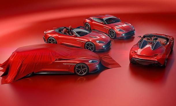 Aston Martin Vanquish Zagato Modelle
