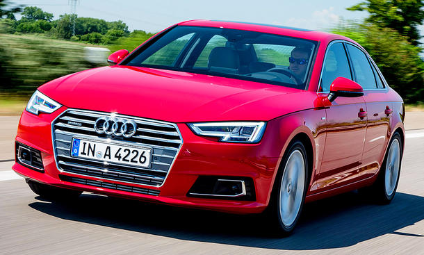 neuer audi a4 b9 (2015): erste testfahrt | autozeitung.de