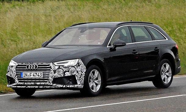 Audi A4 Avant Facelift 2019 Erste Fotos Autozeitung De