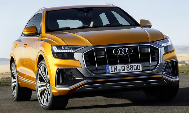 audi q8 4m 2018 preis marktstart daten. Black Bedroom Furniture Sets. Home Design Ideas