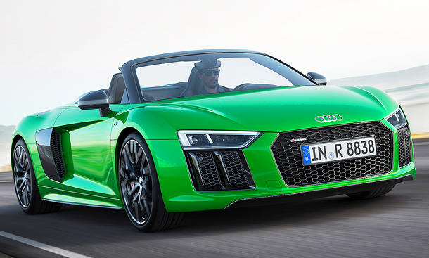 audi r8 spyder v10 plus 2016 preis update. Black Bedroom Furniture Sets. Home Design Ideas