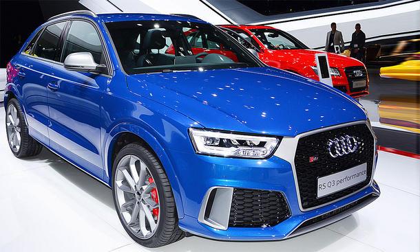 Audi Rs Q3 Performance 2016 Marktstart Und Preis Autozeitungde