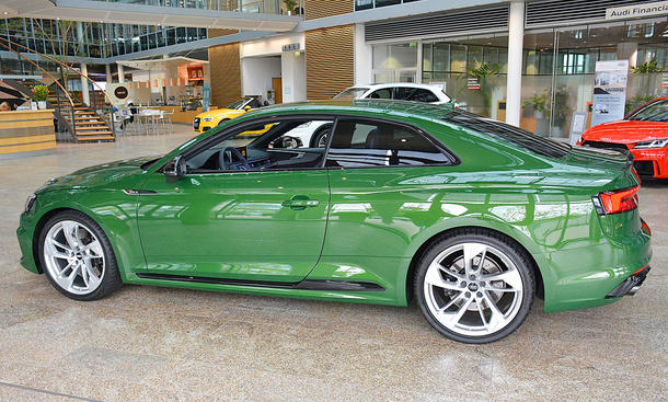 Audi RS 5 Coupé in Sonoma Green