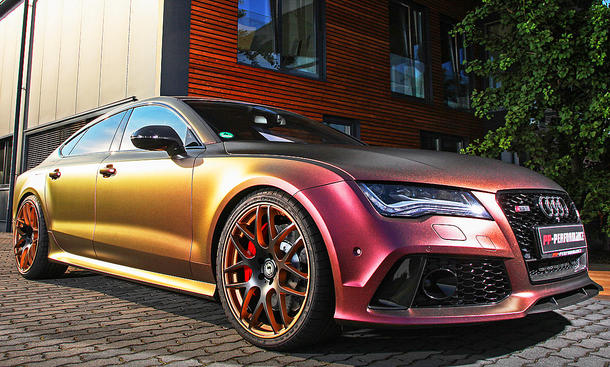 Audi RS 7: Tuning von PP-Performance