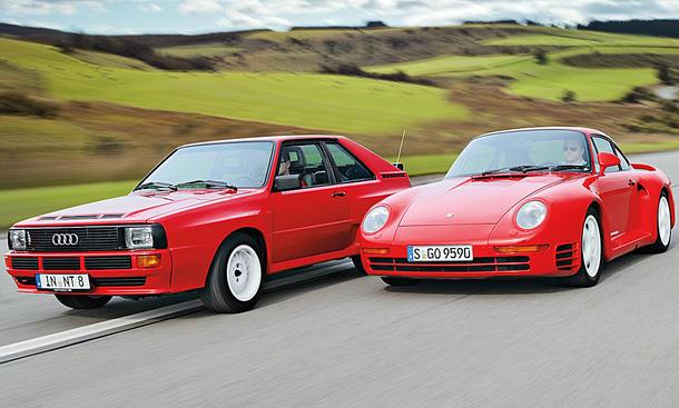 Audi Sport quattro / Porsche 959 Classic Cars