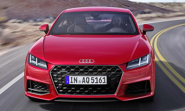 Audi TT Facelift (2018)