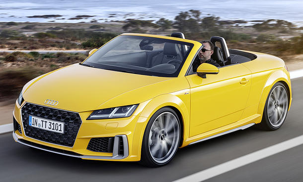 Audi TT Roadster Facelift (2018)