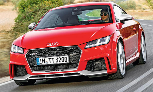 Audi TT RS Coupé im Test