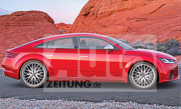 Audi TT Sportback: Illustration