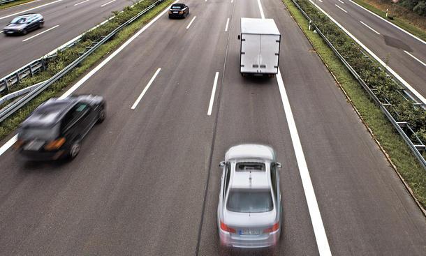 BMW auf Autobahn