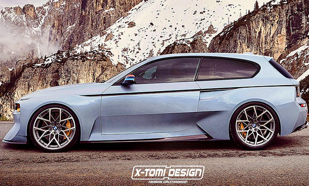 BMW 2002 Hommage Shooting Brake (Illustration)