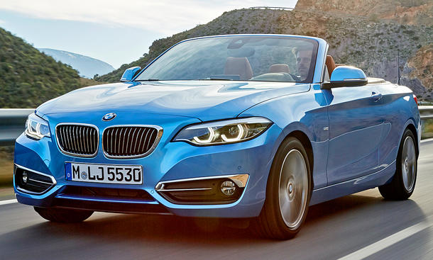 bmw 2er cabrio facelift 2017 preis update. Black Bedroom Furniture Sets. Home Design Ideas