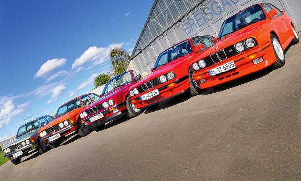 BMW 3er E23/E30/M3: Classic Cars