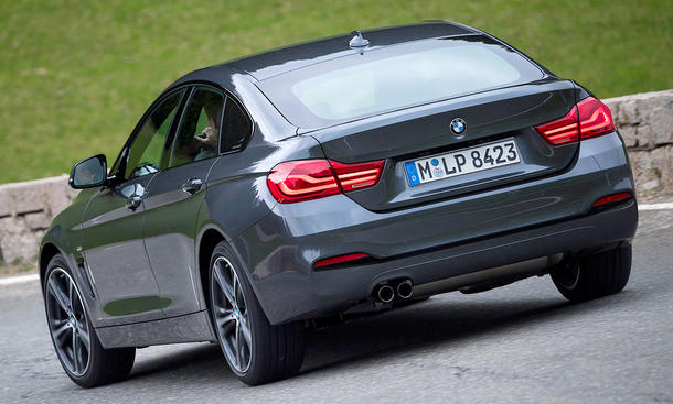 BMW 4er Gran Coupé Facelift (2017)