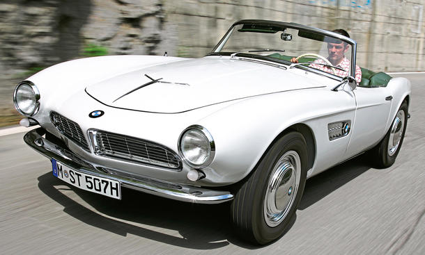 Ikonen: BMW 507 & 328