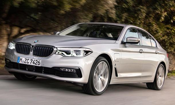 Neuer BMW 530e (2017)