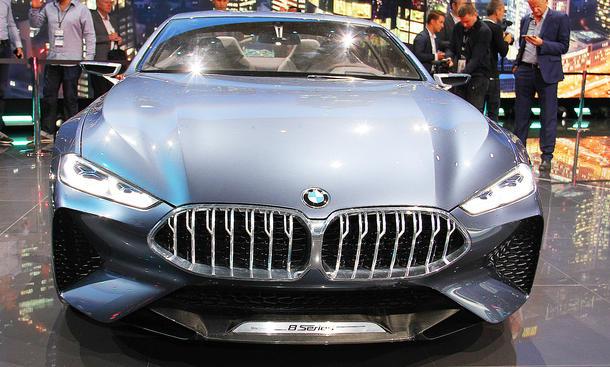 BMW 8er Concept auf IAA