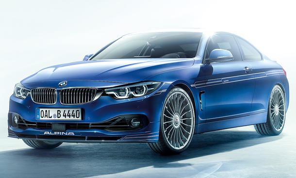 Alpina B4 S Biturbo Coupé (2017)