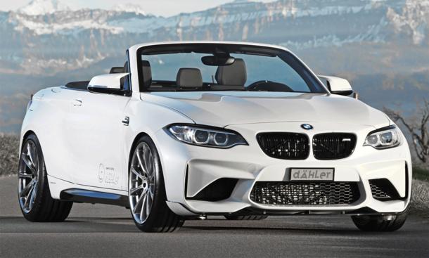 BMW M2 Cabrio von Dähler