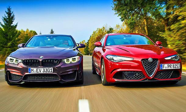 BMW M3 Competition/Alfa Romeo Giulia QV