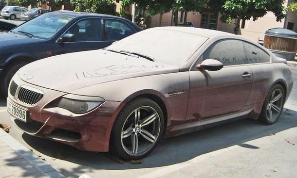 BMW M6 E63 in Dubai