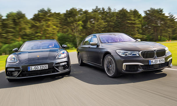 BMW M760Li xDrive/Porsche Panamera Turbo Executive
