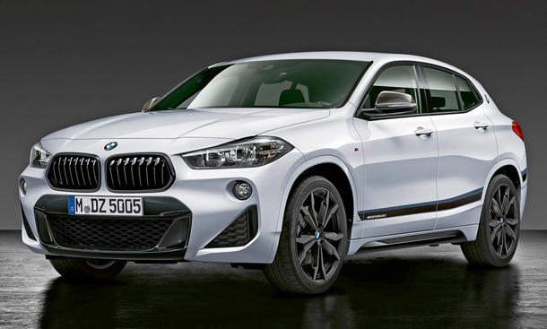 bmw x2 m performance parts erste fotos. Black Bedroom Furniture Sets. Home Design Ideas