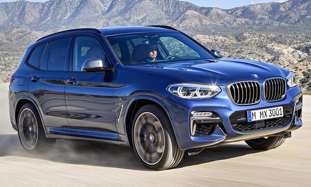BMW X3 M40i (2017)