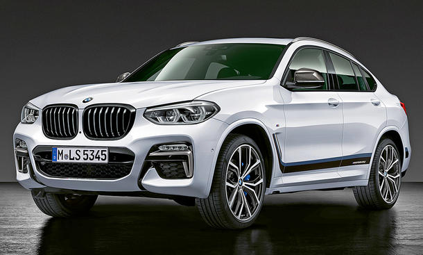 BMW X4 M-Performance-Parts