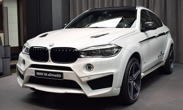 BMW X6: Tuning von Abu Dhabi