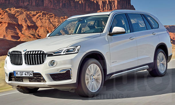 bmw x7 2018 neue fotos vom g07 update. Black Bedroom Furniture Sets. Home Design Ideas