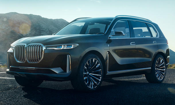 BMW X7 (2018): Fotos vom iPerformance Concept (G07)