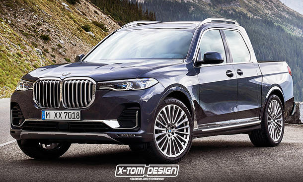 Bmw X7 Audi Q8 Amp Co Pickup Illustrationen Autozeitung De
