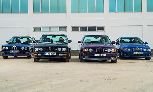 BMW M-Limousinen