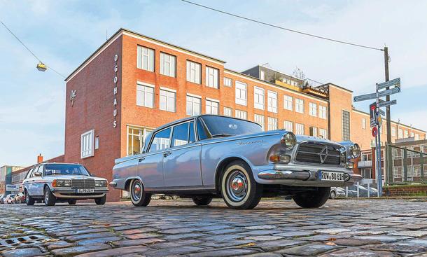 Borgward P 100/Mercedes S123: Classic Cars