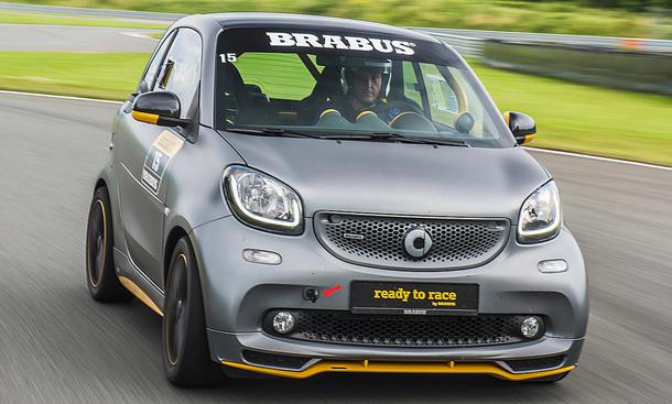 Brabus Smart Ready to Race (2017)