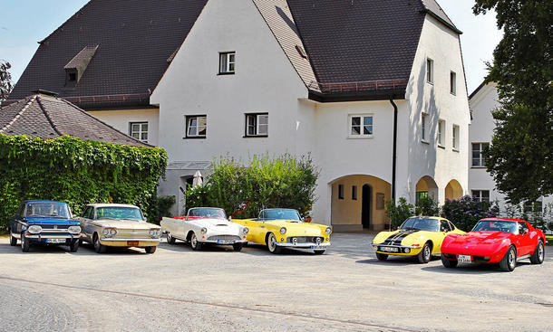 C3/GT/T-Bird/1000/Prinz/Corvair: Classic Cars