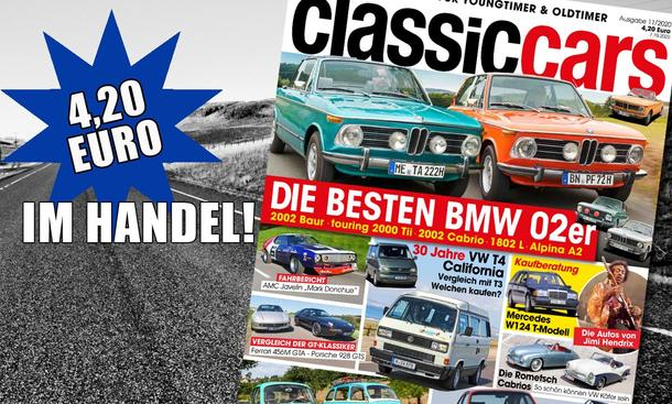 AUTO ZEITUNG Classic Cars 11/2020