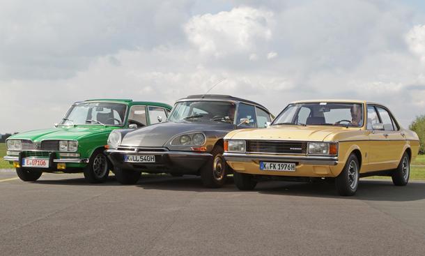Granada/Citroen DS/Renault 16: Classic Cars