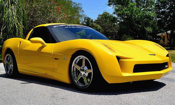 Corvette C7 Stingray Concept als Replica