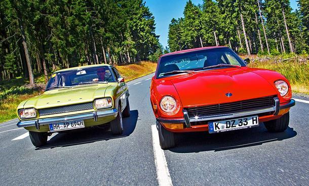 Datsun 240Z/Ford Capri: Classic Cars