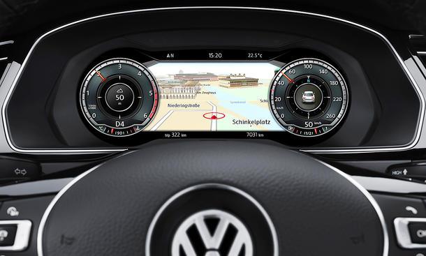 Auto cockpit vw  Digitaler Tacho defekt: Störungen beheben! | autozeitung.de